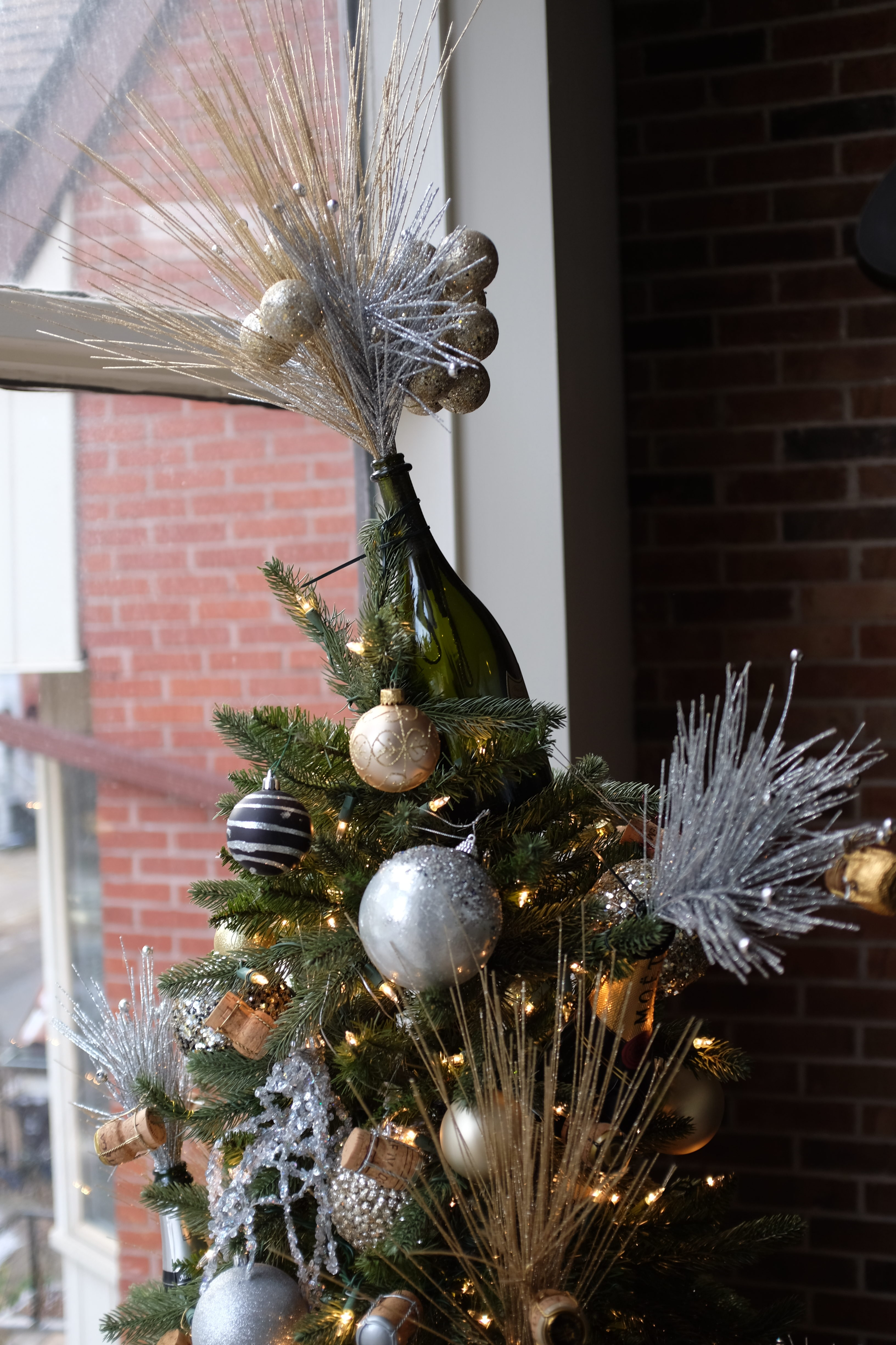 Build Your Own Champagne Christmas Tree Sparkling Winos